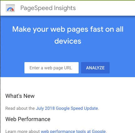 Website Page Speed Test | Digital Marketing | Hydra Digital